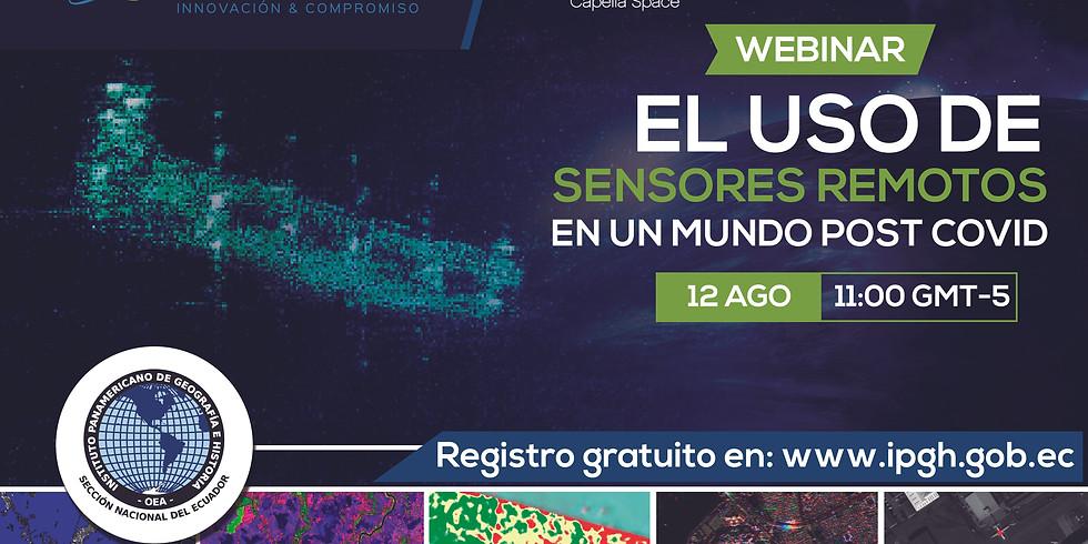 Webinar: El Uso de Sensores Remotos en un Mundo Post COVID.