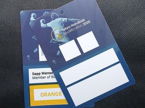 Akkreditierung für die Handball Olympia Qualifikation