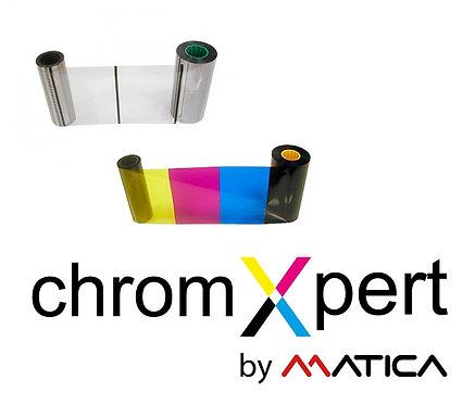 Matica XID Farbband Set YMCK + Film (DIC10216 + DIC10319)