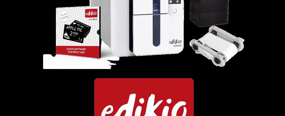 Preisschilddrucker Bundle EDIKIO DUPLEX