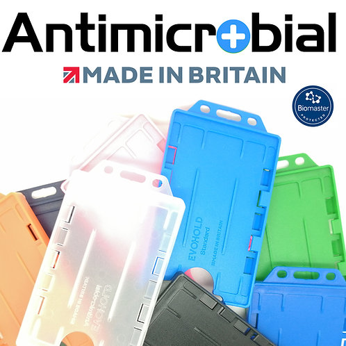 Card holder antimicrobial vertically open (100 pieces per pack)