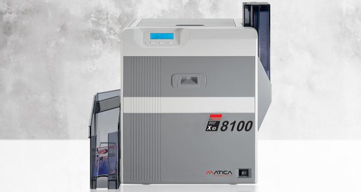 Matica XID8100 Kartendrucker
