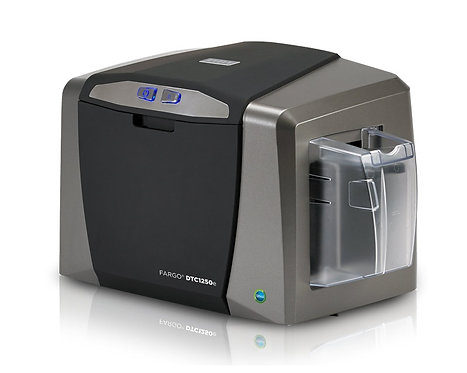 HID Fargo DTC1250e card printer USB