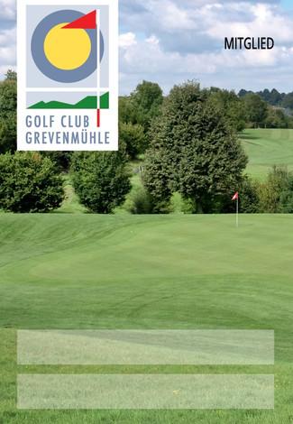 Bagtag Golf Großformat