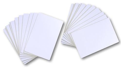 INKJET PVC Plastikkarten 140 x 90 mm - 100 Stück