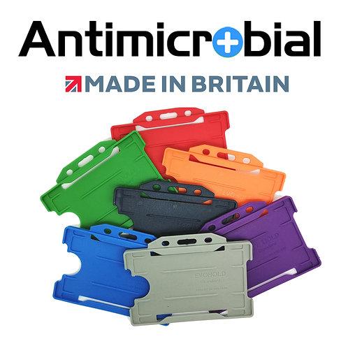 Kartenhalter Antimikrobiell horizontal offen (100 Stück pro Packung)