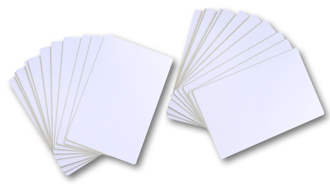 Sonderformat Plastikkarten