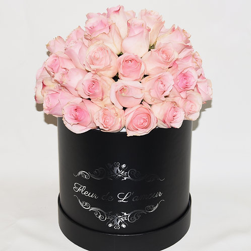 Deluxe Small Box - Light Pink Roses