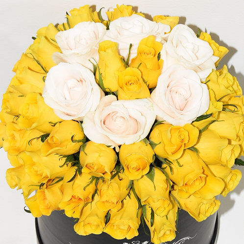 Deluxe  Small Box - Yellow Roses