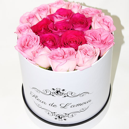 Combination of Pink Roses