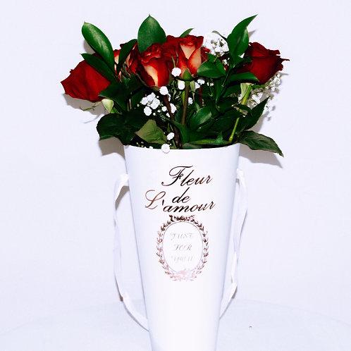 Le Vase en Blanc