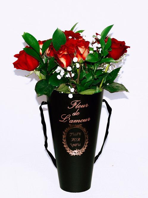 Le Vase en Noir