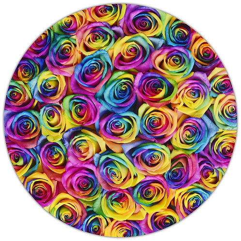 Signature Medium Box - Rainbow Roses