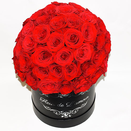 Deluxe Small Box - Red Roses