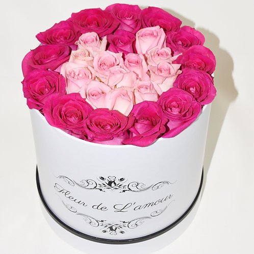 Heart Design Any Color Roses