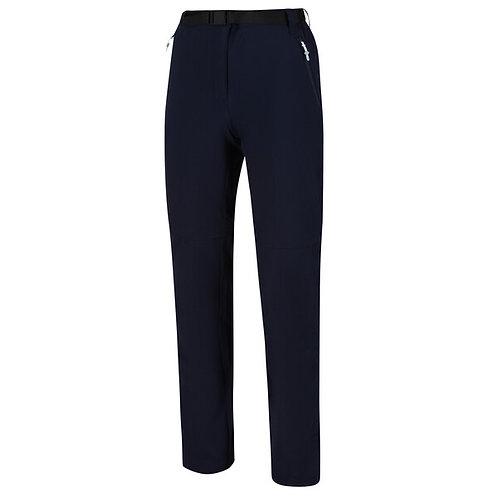 Zipp Off  Stretch Hose für Damen Navy blau