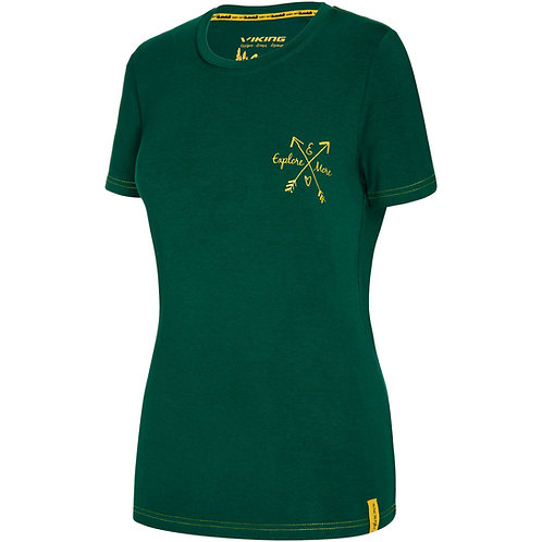 Viking Bamboo Light T-Shirt Damen grün