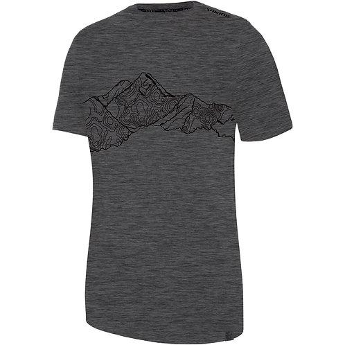 Viking Bamboo Light T-Shirt Herren grau