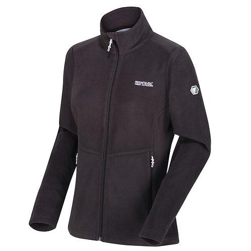 Fleece  Jacke mit durchgehendem Reißverschluss für Damen