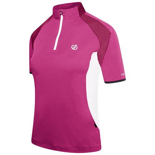 Radtrikot für Damen rosa