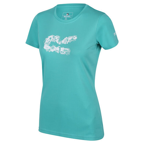 Graphic Funktions- T-Shirt für Damen