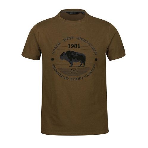 Organic Cotton Shirt für Herren olive/grün