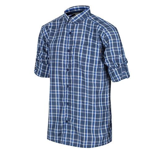 Kariertes Langarmhemd Für Herren