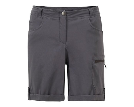 Funktion-shorts mit vielen Taschen für Damen grau