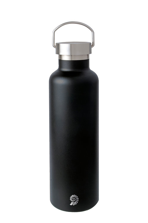 Origin Outdoors Isolierflasche 'Active' - 0,75 L schwarz matt