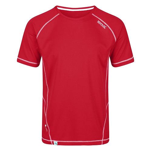 leichtes Funktion-Shirt für Herren rot