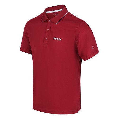 Active Polo-Shirt für Herren rot