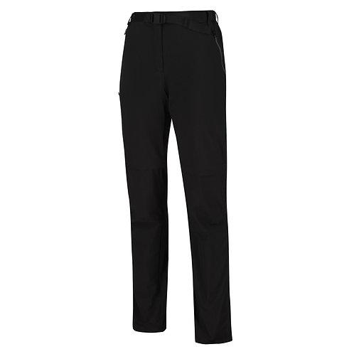 XERT STRETCH Zipp-Off Hose für Damen schwarz