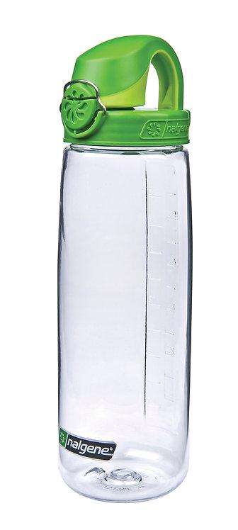 Nalgene Trinkflasche 'OTF' - 0,65 L transparent/grün