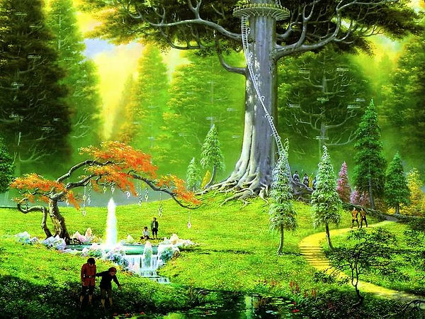 people under Lothlorien-type tree.jpg