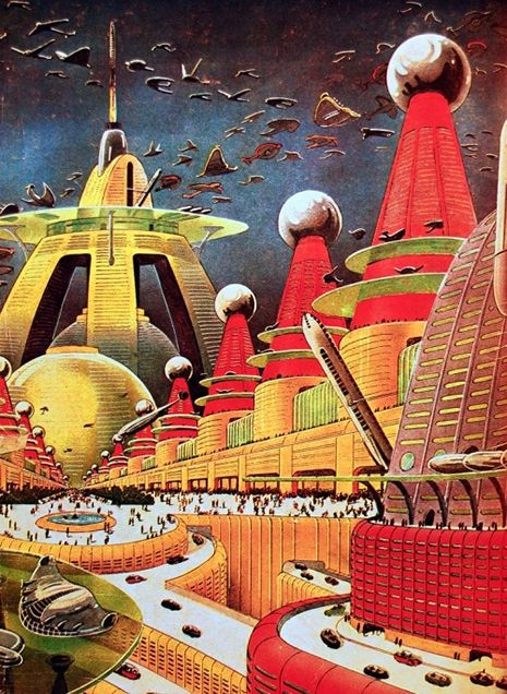 "Frank Paul ""City of the Future"""