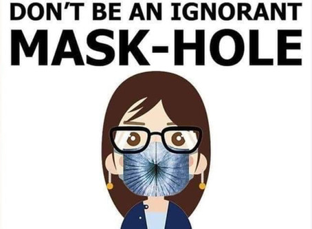 Wearing a Mask is Selfish