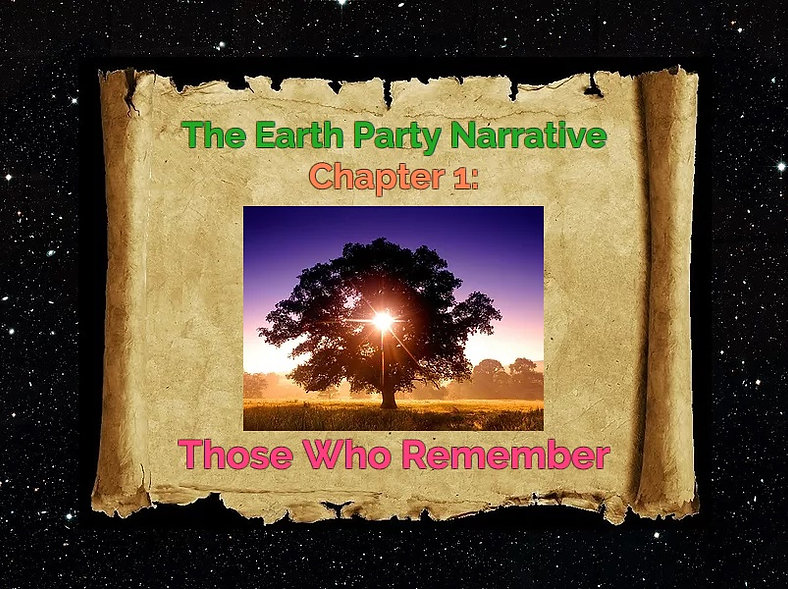 Narrative Heading 1 - Those Who Remember