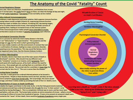 """The Anatomy of the Covid """"Fatality"""" Count"""