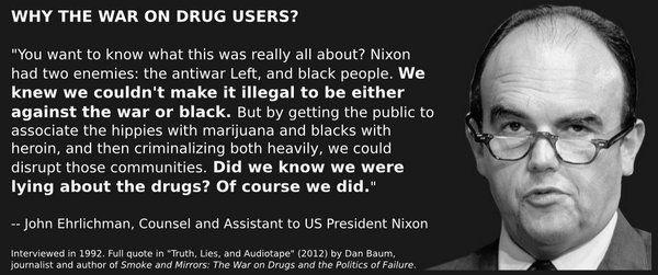 nixon drugs ehrlichman quote
