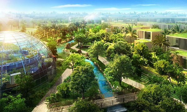 future ecological city