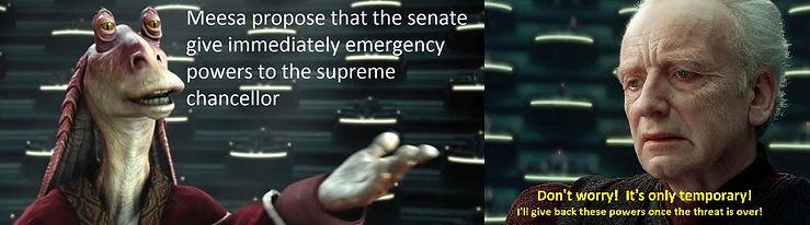 jar jar and palpatine senate powers