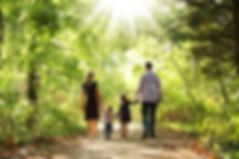 61336476-young-family-walk-together-on-t