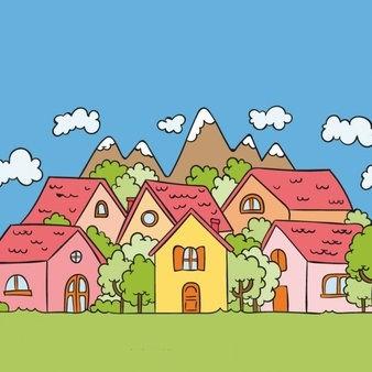 background-hand-drawn-village_23-2147564