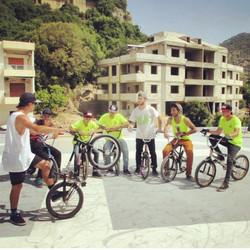 BMX workshop Lebanon III May 2015