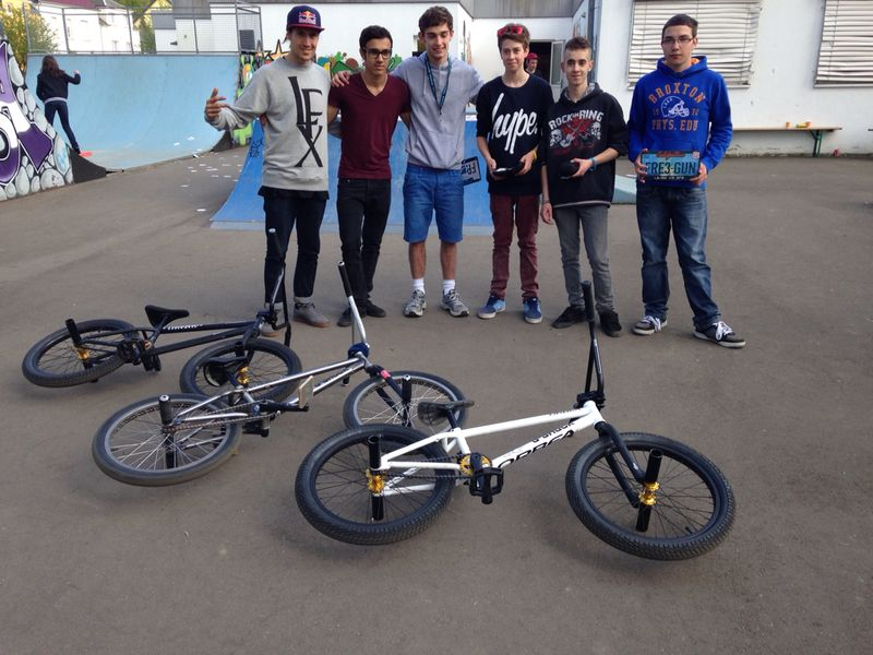 Youth Hostel organises BMX workshop