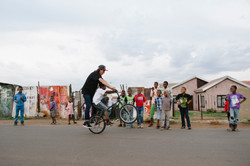 """The Luckiest Kid in Soweto"", BMXplore"