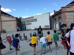 BMX workshop Madrid, Spain June 2014