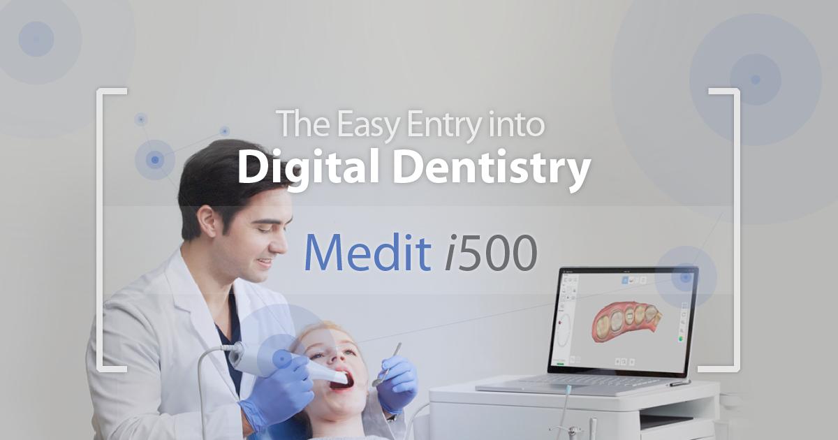 Intraoral Scanner Medit i500 | Dental Clinics Solutions