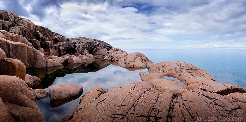 Canadian Shield, the north shore of Lake Superior