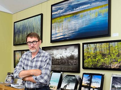 Janusz Wrobel in his Hillcrest Studio